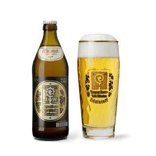 Augustiner Edelstoff Flasche Glas